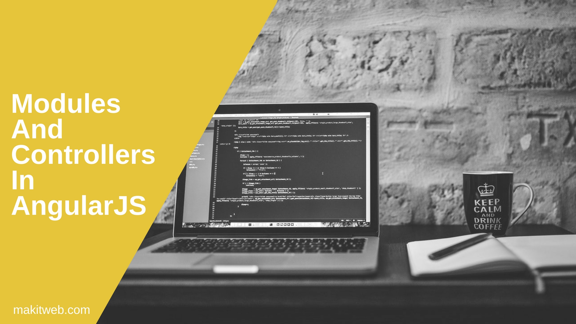 Modules and Controllers in AngularJS