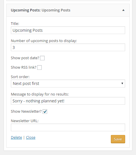 How to show upcoming/future posts in wordpress